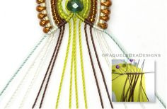 MicroMacrame by Raquel: How do I keep the working threads looking taut and...