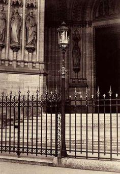 Basilique Sainte-Clotilde, Paris 1865-69, by Charles Marville.