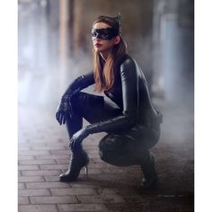 Catwoman,3D printed model,completed