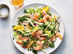 Shrimp-And-Orange Salad - Cooking Light