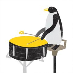 Sinfonia no Zoo / Zoo Symphony by Andrea Ebert, via Behance
