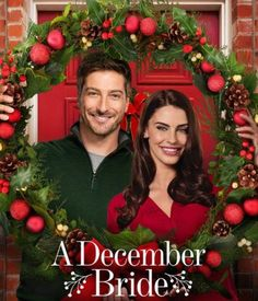 """Find out more about the Hallmark Channel Original Movie """"A December Bride"""" starring Jessica Lowndes and Daniel Lissing. Hallmark Channel, Películas Hallmark, Films Hallmark, Daniel Lissing, Christmas Movies On Tv, Christmas Shows, Holiday Movies, Family Christmas, Christmas Wedding"""