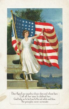 The Daily Postcard: Flag Day!