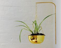 Modern Hanging Planter Mid Century Plant Stand by weareMFEO