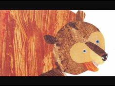 Brown Bear Brown Bear What Do You See: listen to the authors beat and sentence fluency Five Senses Preschool, Preschool At Home, Online Books For Kids, Kids Online, September Crafts, January, Online Stories, Fluency Practice, Kindergarten Books