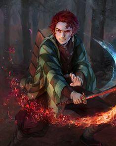 Manga Anime, Fanarts Anime, Anime Demon, Anime Characters, Anime Art, Dragon Slayer, Cute Anime Guys, Slayer Anime, Boy Art