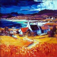 Blackwaterfoot Bay, Arran. Colorbox, Vibrant Colors, Colours, Arran, Oil On Canvas, Landscape, Gallery, Picture Ideas, Painting