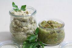 Hummus und Guacamole (glutenfrei, vegan)