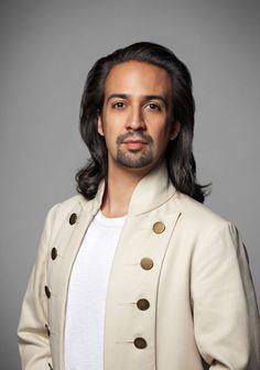 Lin-Manuel Miranda as Alexander Hamilton... Those luscious locks are gone now
