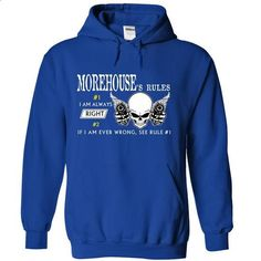 MOREHOUSE RULE\S Team - #shirts! #statement tee. ORDER NOW => https://www.sunfrog.com/Valentines/MOREHOUSE-RULES-Team-55991971-Guys.html?68278