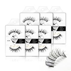 5de46aa2e21 Items similar to False Lashes - Pack of 6 - Multipack - #Demi Wispies, #DW  (6pack) on Etsy