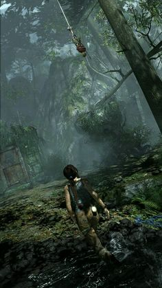 I have a crazy obsession with the tomb raider games