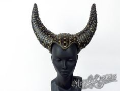 Black  Horned Headdr