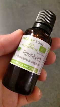 une huile précieuse: le ravintsara