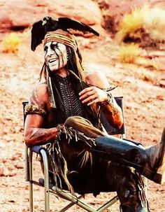 The Lone Ranger behind the scenes