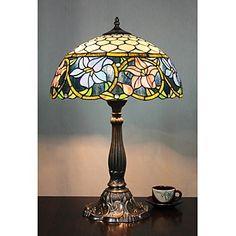 tiffany lampada da tavolo con 2 luci-placcano finitura – EUR € 164.99