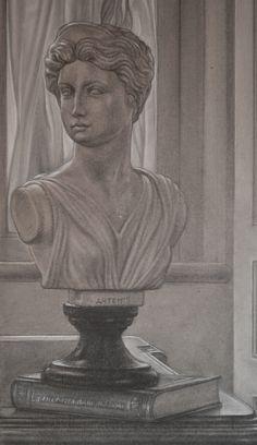 "detail of ""Cesare"": Artemis"