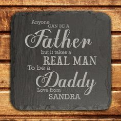 Available To Buy Now From Prezzybox At Personalised Daddy Slate Keepsake In Stock With Fast UK Delivery