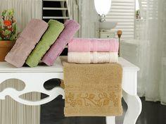 COTTON IVY 30*50 منشفة قطنية باشكال نبتة اللبلاب