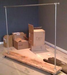 Custom Clothing Racks   Whitesell Design & Construction