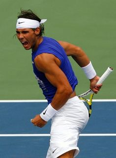 Rafael Nadal. A real warrior !