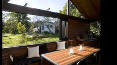 Fig Tree Pocket House - Vokes and Peters Outdoor Rooms, Indoor Outdoor, Outdoor Furniture, Outdoor Decor, Queenslander, Bbq Area, Fig Tree, Garden Spaces, Backyard