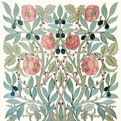 Arts and crafts Interiors Craftsman Bungalows - Arts and crafts Wallpaper For Kids - - Arts and crafts Movement Textiles - Arts and crafts William Morris William Morris Wallpaper, William Morris Art, Morris Wallpapers, Art Nouveau Design, Art Deco, William Morris Patterns, Art And Craft Videos, Motif Floral, Floral Patterns