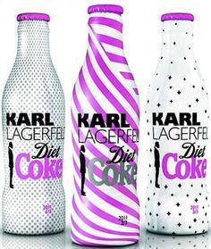 Karl Lagerfeld coke bottles