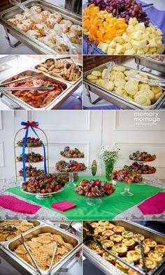 Brunch Reception!   Confetti Themed Wedding | Colorful Weddings | Rainbow Weddings | Colorful Wedding Ideas | Memory Montage Photography | www.memorymp.com