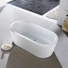 Eviva Ramo 60 in. Freestanding Soaking Bathtub - EVTB6201-59WH