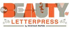 Beauty of Letterpress Logo