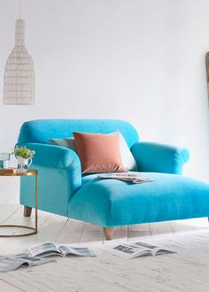 Loaf - Souffle love seat chaise from £1,025