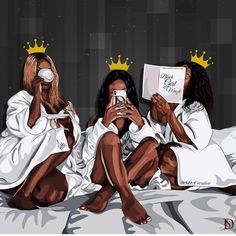 African american women, Melanin queens, art print – Fashion Ideas And Suggestions Art Black Love, Black Girl Art, My Black Is Beautiful, Black Girl Magic, Black Girls Drawing, Black Art Painting, Black Artwork, Reine Art, Mode Poster