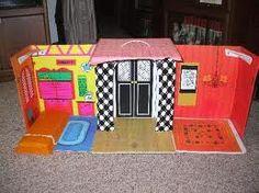 Vintage Barbie house - I had one just like this !!!!!!