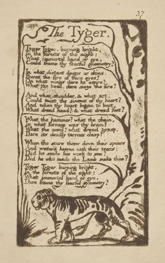 William Blake | Songs of Innocence and of Experience: Shewing the Two Contrary States of the Human Soul | The Morgan Library & Museum