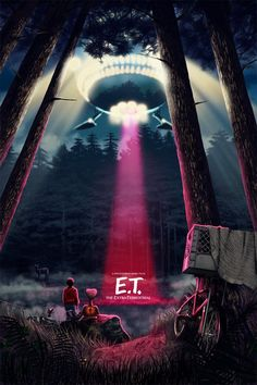 E.T. Alternative Poster - Created by Sam Gilbey