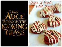 Next week, I am walking the red carpet for Disney's Alice Through The Looking Glass, opening May 27th!  In honor of the movie, I made these delicious Queen of Hearts Red Velvet Donuts!  These donuts are so good, they will knock your head off!  Ha!  Get it?!  The donuts are also baked, so that means less fat.  Bonus!  Without further ado, check out the recipe below.   Queen of hearts Red Velvet Donuts Recipe   Ingredients 1¼ cup all-purpose flour ½ tsp. baking soda ½ tsp. salt 1...