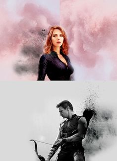 Natasha and Clint.
