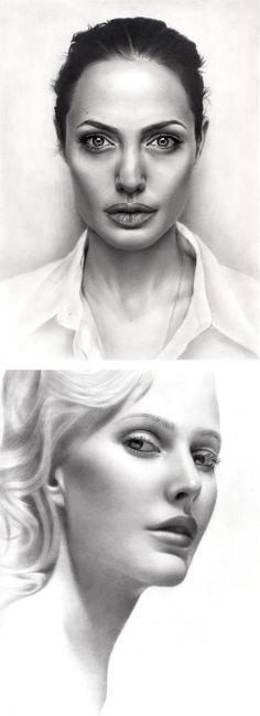 Amazing Pencil Portraits by Sarkis Sakissian