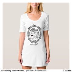 Strawberry Scarlett t-shirt dress
