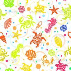 Черепашки , морские раковины