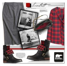 """""""Kick Up the Leaves (Stylishly) With SOREL: CONTEST ENTRY"""" by rosie305 ❤ liked on Polyvore featuring SOREL, MANGO, Gucci and sorelstyle"""