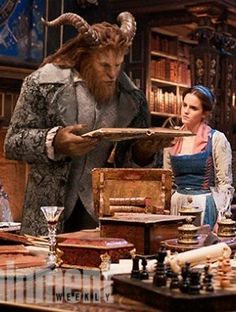 'Beauty and the Beast': Emma Watson and Dan Stevens Step Out in Style in New Images
