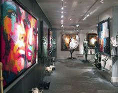 Francçoise Nielly in Galleries