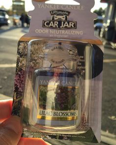 Found this at the car wash and had to buy it! #lovethescent #lilacblossomphotography #perfectforme #canibuyinbulk