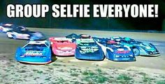 My kind of group selfie. Speedway Racing, Nascar Racing, Auto Racing, Race Quotes, Motocross Love, Race For Life, Late Model Racing, Michael Waltrip, Martin Truex Jr