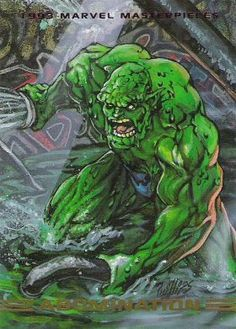 1993 Marvel Masterpieces 61 A, Jan 1993 Trading Card by SkyBox Marvel Comics Art, Marvel Villains, Marvel Characters, Marvel Avengers, Comic Movies, Comic Books Art, Comic Art, Book Art, Comic Character