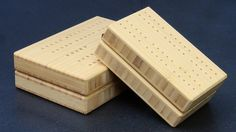 """A Lightweight Travel Cribbage Board - """"The Backpacker"""""""