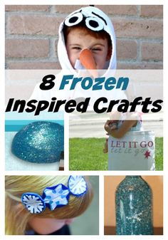 Get Crafty with 8 Fabulous Frozen Crafts for Kids: Looking for some inspiration straight out of Arrendelle? Check out these eight fabulous Frozen crafts for kids, all inspired by the hit Disney movie! Grab your kids and create some movie magic! Crafts For Kids To Make, Craft Activities For Kids, Disney Frozen Crafts, Cute Crafts, Diy Crafts, Crayon Crafts, Diy Craft Projects, Kid Projects, Craft Ideas