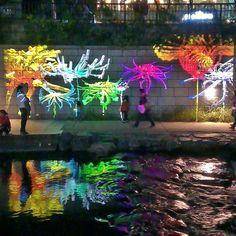 SOKOR '14: Cheonggyecheon River, Dancing LIghts